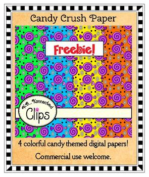 Freebie! Candy Crush Paper Collection