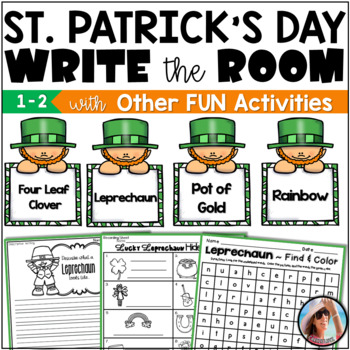 Catch A Leprechaun Hide and Find Fun!  Have Fun This St. Patrick's Day!