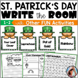 St. Patrick's Day Worksheets   Write the Room