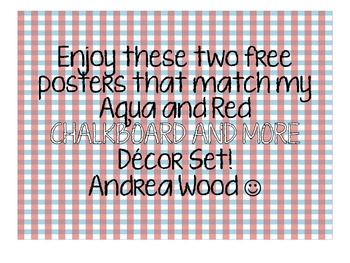 Freebie Chalkboard Decor and More