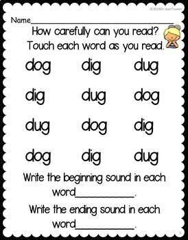 Freebie: Change It Up: Changing Sounds in CVC Words