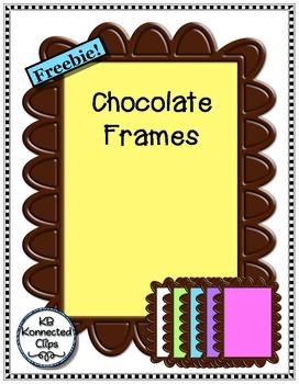 Freebie! Chocolate Frames