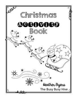 Freebie Christmas Activity Book