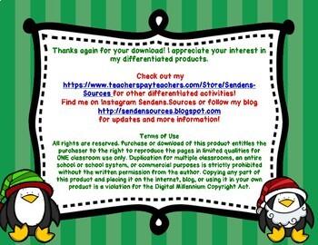 Freebie Christmas Bookmarks Comprehension Strategies
