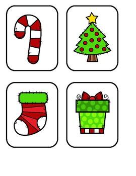Freebie - Christmas Memory Game