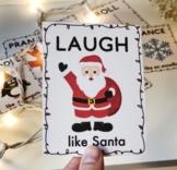 Freebie Christmas Movement Cards!