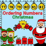 Christmas Ordering Numbers to 100