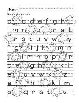 Freebie Christmas Worksheets