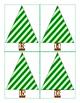 Freebie:  Christmas Tree Number Cards 1-20