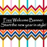 Freebie Class Welcome Banber
