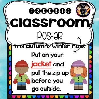 Freebie Classroom Poster 3#
