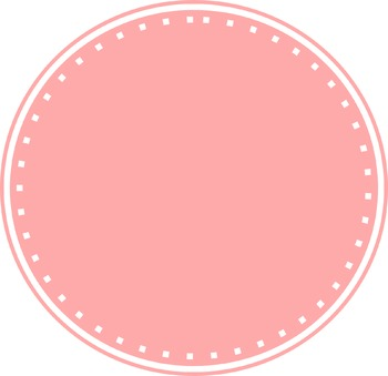 FREEBIE Clip Art Color Circles stitch design clipart commercial license included