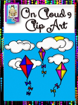 Freebie Clip Art~ On Cloud 9