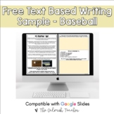 Freebie Text Based Evidence Reading Passage - Summer