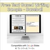 Freebie Text Based Evidence Reading Passage - Summer