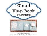 *Freebie* Cloud Flap Book