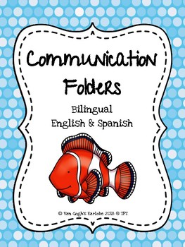 Communication Folder Covers (Ocean Theme) #flavoroftheday