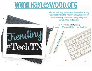 Freebie! Computer Tech Printable Welcome Poster