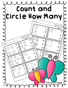 Count and Write How Many to 5