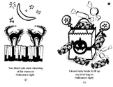 Freebie!  Count of Halloween Reproducible Book