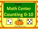 Freebie Couting Pumpkins 0-10 Bilingual Stars Mrs Partida Free