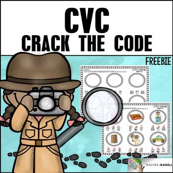 Freebie - Crack the Code - CVC Style