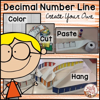 "Decimal Place Value ""Number Line"""