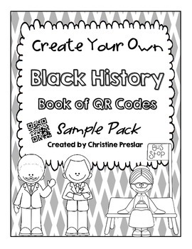 {Freebie} - Create Your Own QR Code Mini Book Sampler - {Black History Month}
