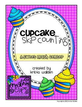 Freebie {Cupcake Skip Counting Center}