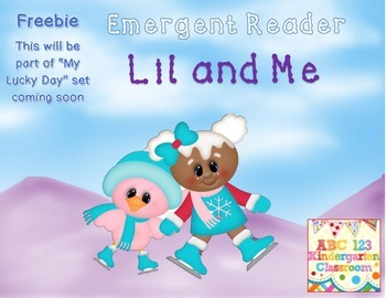 Freebie Cute Emergent Reader - Winter