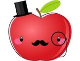 Freebie - Dapper Apple Clipart