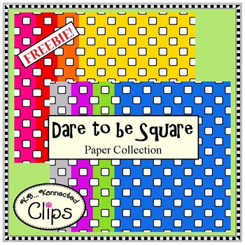 Freebie! Dare to be Square Paper Collection