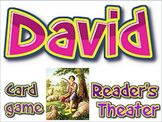 Freebie: David card game and reader's theater scripts