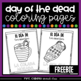 Freebie - Day of the Dead Coloring Pages