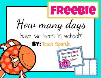 Freebie Days in School Poster (Fish Version)