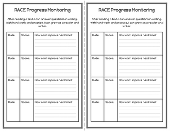 Freebie Differentiated Reading Response Notebook