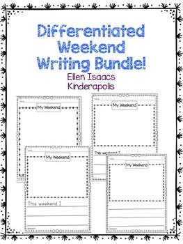 Freebie: Differentiated Weekend Writing Bundle!