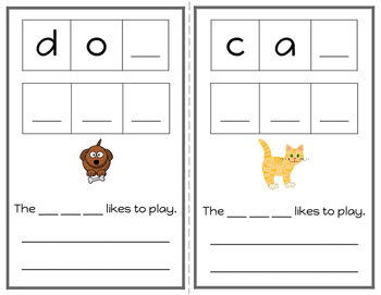 Freebie Differentiated Writing Notebooks