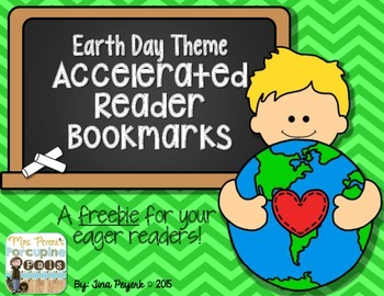 {Freebie} Earth Day Accelerated Reader Bookmarks