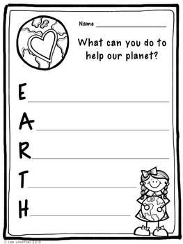 Earth Day Acrostic Poem ~ Freebie!