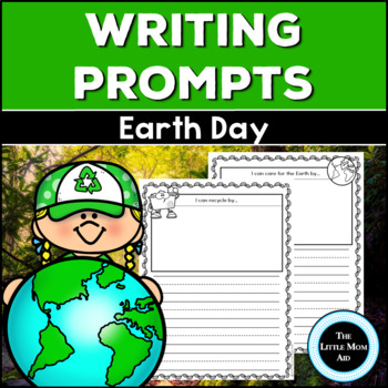 Freebie Earth Day Writing Prompts
