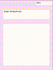 Freebie *** Easter Stationary Writing Papers (Writing Prompt)