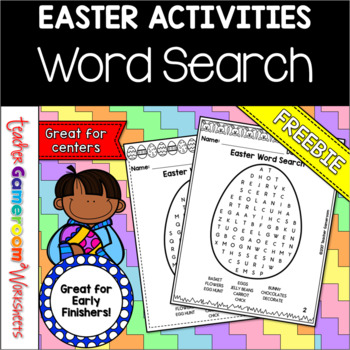 graphic relating to Easter Word Search Printable Worksheets identified as Freebie Easter Phrase Glimpse Printable