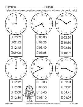 Freebie: El reloj