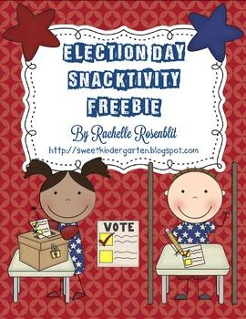 *Freebie* Election Day Snacktivity