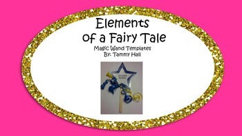 FREEBIE: Elements of a Fairy Tale Magic Wand Templates