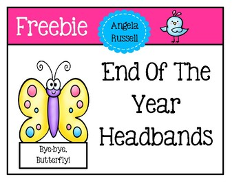 Freebie - End Of The Year Headbands