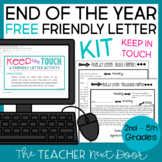 Free: End of the Year KIT (Keep in Touch) Letter Writing Activity