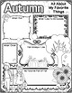 Fall Activities Freebie,  Back to School, Writing Activity, Reflection
