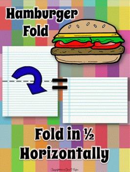 Freebie:  Paper Folding, Fast Food Style
